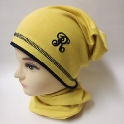 Čiapka bavlnená žltá REPAL