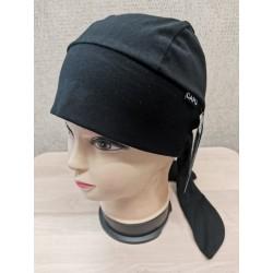 Šatka bavlnená čierna CAPU