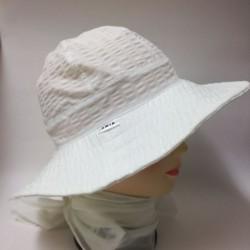 Dámsky bavlnený klobúk krep...