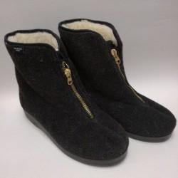 Pánske papuče tm. sivé MJARTAN